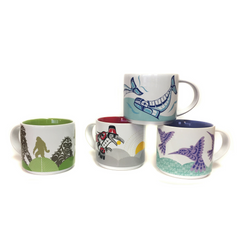Native Home Glossy Ceramic Mugs