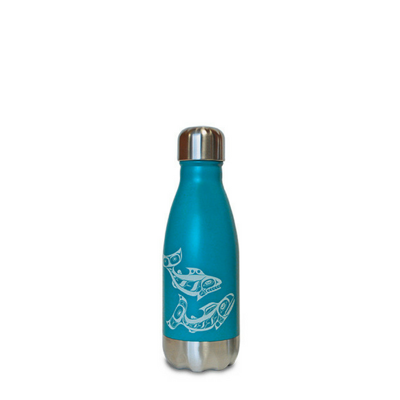 Small Insulated Bottle - Salmon by Allan Weir