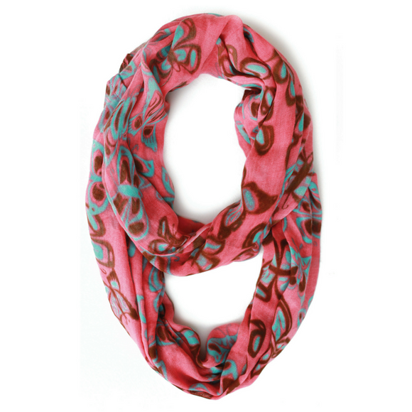 Bamboo Circle Scarf - Butterfly Spirit by Paul Windsor