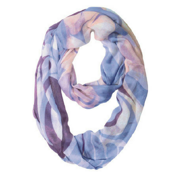 Bamboo Circle Scarf - Serenity by Simone Diamond