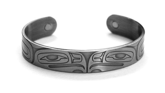 Brushed Silver Bracelet - Eagle by Gordon White