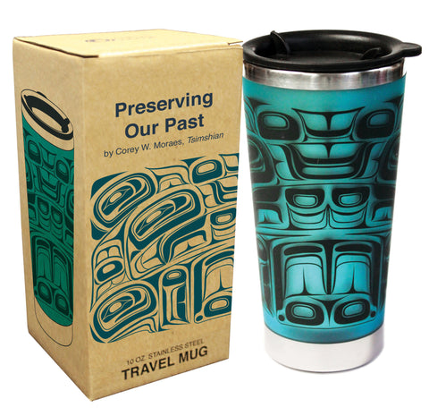 Travel Mug 10oz - Preserving the Past by Corey Moraes