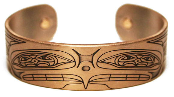 Copper Bracelet - Higher Power by Ernest Swanson
