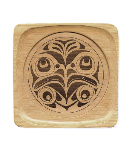 Bamboo Coaster - Eagle by Corey Moraes