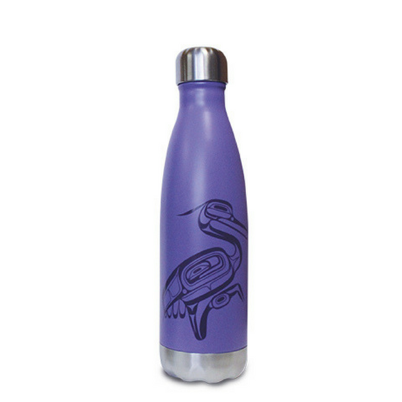 Insulated Bottle - Heron by Corey Bulpitt (16 oz)