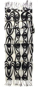 Viscose Scarf - Salish Serpents by lessLIE
