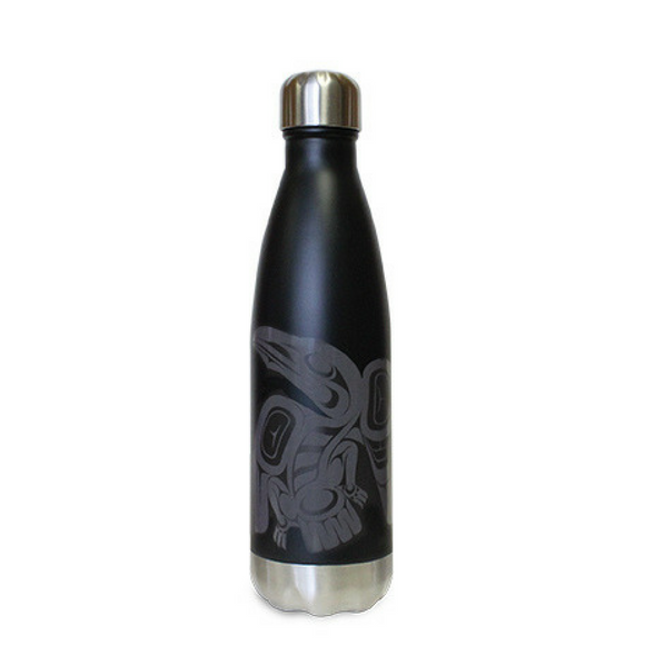 Insulated Bottle - Raven by Francis Horne (16 oz)