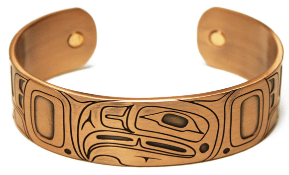 Copper Bracelet - Eagle by Gordon White