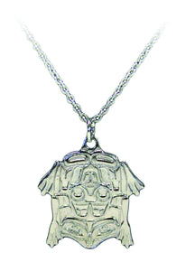 Platinum Necklace - Frog by Corey Moraes
