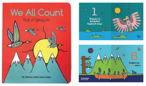 Board Book - We All Count - Ojibway
