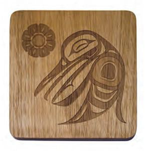 Coaster Set - Hummingbird by Trevor Angus