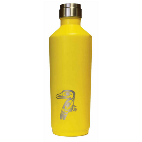 Tapered Insulated Bottle - Raven by Allan Weir