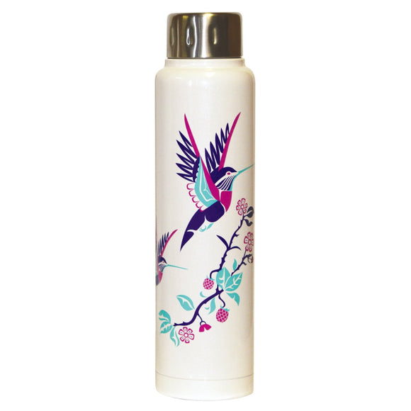 Totem Insulated Bottle - Hummingbird by Karen Francis