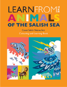 Colouring Book - Animals of the Salish Sea