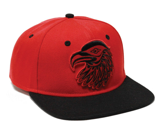 Snap Back Hats - Eagle by Simone Diamond