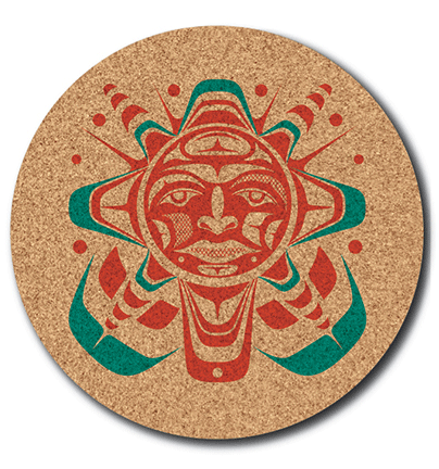 Cork Trivet - Sun by Paul Windsor