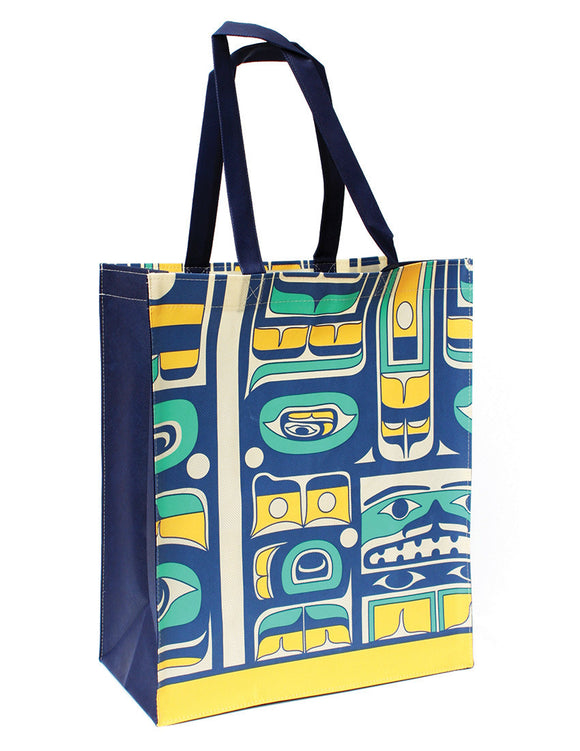 Eco Bag - Chilkat by Mike Dangeli