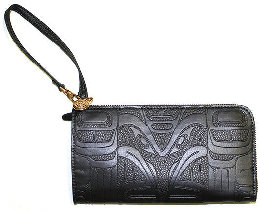 Embossed Fashion Wallets- Raven by Francis Horne Sr.