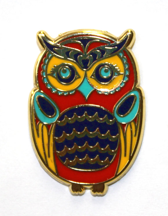 Enamel Pin - Owl by Simone Diamond