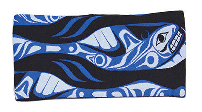 Headband - Whale Paddle by Paul Windsor