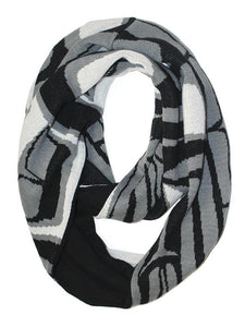 Knitted Circle Scarves - Wolf by Ben Houstie