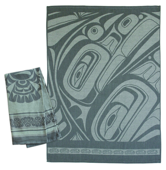 Tea Towel - Pacific Spirit by Morgan Green