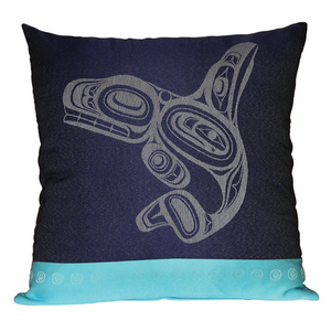 Pillow Cover - Whale by Ernest Swanson