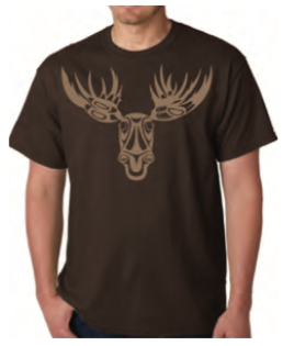T-Shirt - Moose by Paul Windsor