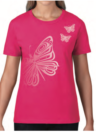 T-Shirt - Butterflies by Trevor Angus