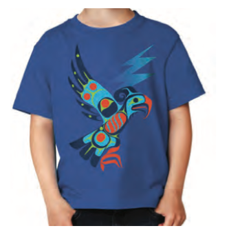 Youth T-Shirt - Thunderbird by Allan Weir