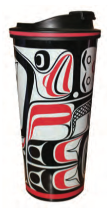 Travel Mug 16oz - Eagle Vision by Allan Weir