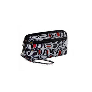 Coastal Traveller Organizer Clutch - Pacific Formline by Paul Windsor