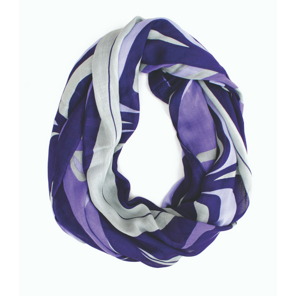 Bamboo Circle Scarf - Swift Wolf by Paul Windsor