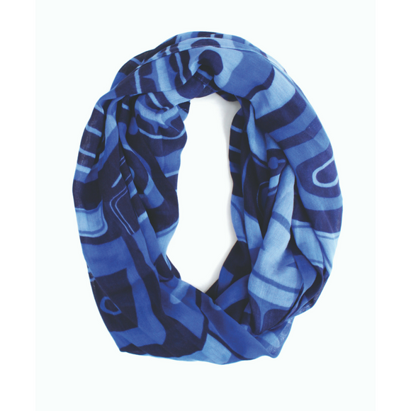 Bamboo Circle Scarf - Inspiring the Future by Roger Smith