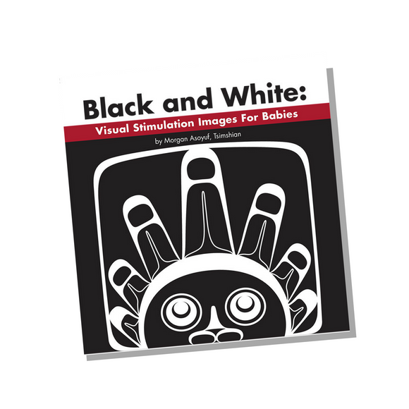 Board Book - Black and White: Visual Stimulation for Babies by Morgan Asoyuf
