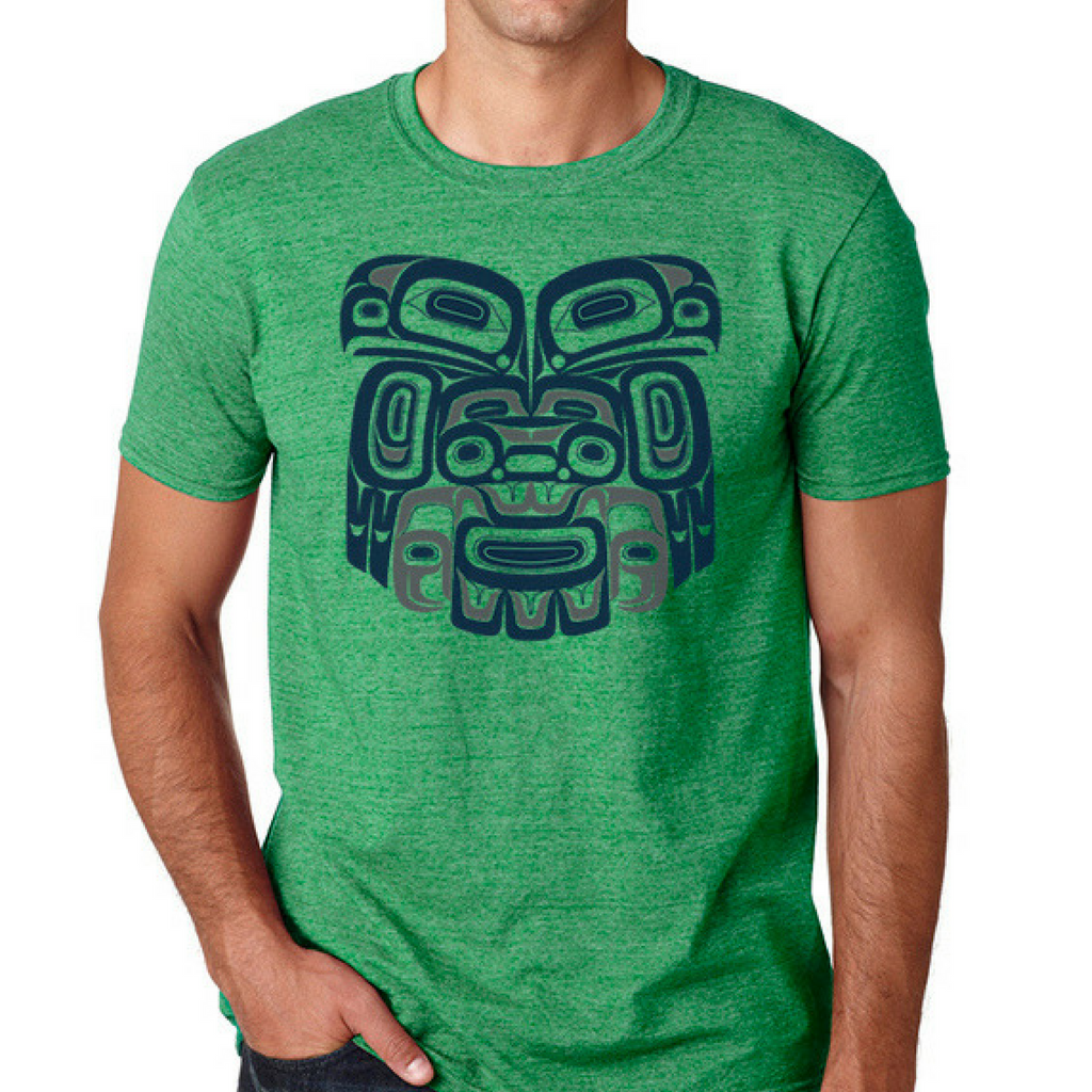 T-shirt - Ch'aak' (Eagle) by Alison Bremner