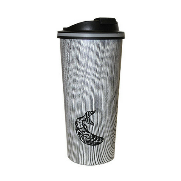 Insulated Travel Mug - Humpback Whale by Ben Houstie