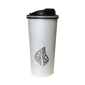 Insulated Finish Travel Mug - Leaf of Life by Dylan Thomas