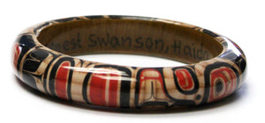 "Wood Bangle .75"" - Elements of Tradition by Ernest Swanson"