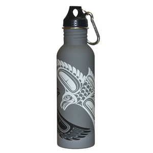 Matte Water Bottle - Raven by Paul Windsor