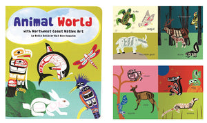 Board Book - Animal World