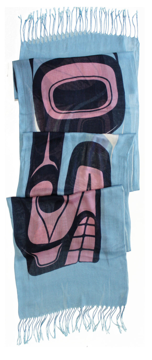 Bamboo Scarf - Journey in Spirit by Nalaga O'Brien