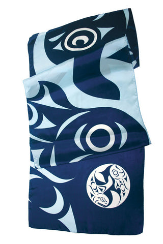 "Silk Scarf 20"" - Unity by Maynard Johnny Jr"