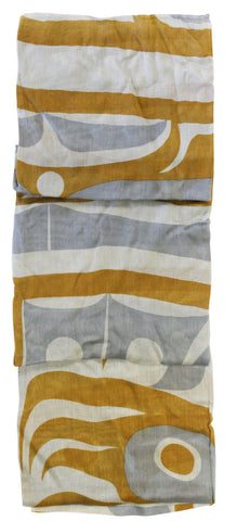 Cotton Scarf - Chilkat Thunderbird by Corey Bulpitt