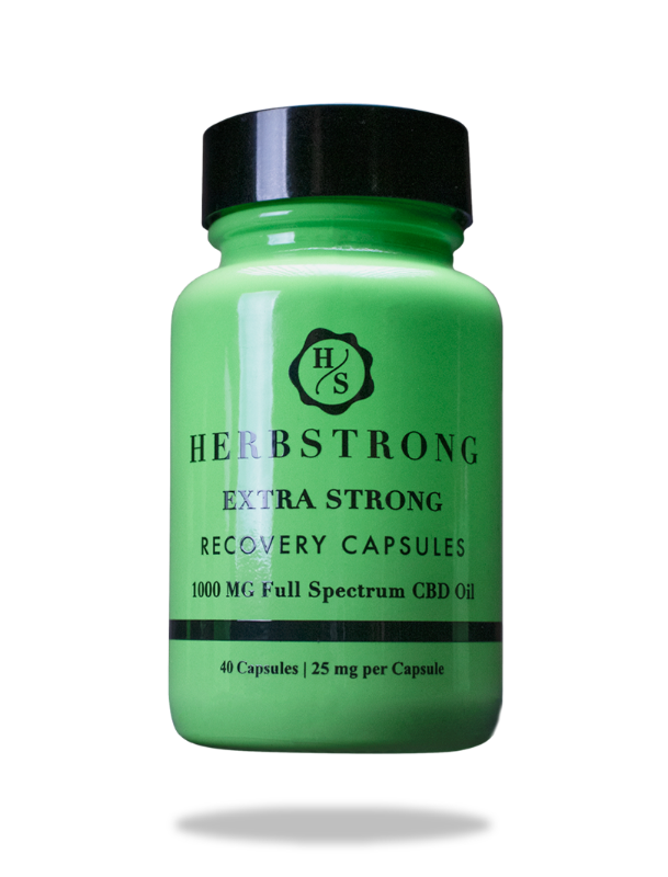 Extra Strong Recovery Capsules (PREORDER NOW)