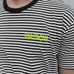 Striped T-Shirt - White