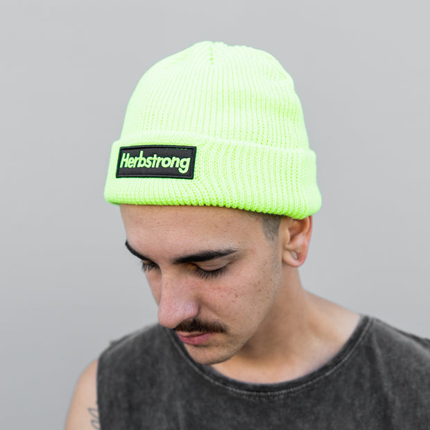 Beanie - Neon Green OR Black