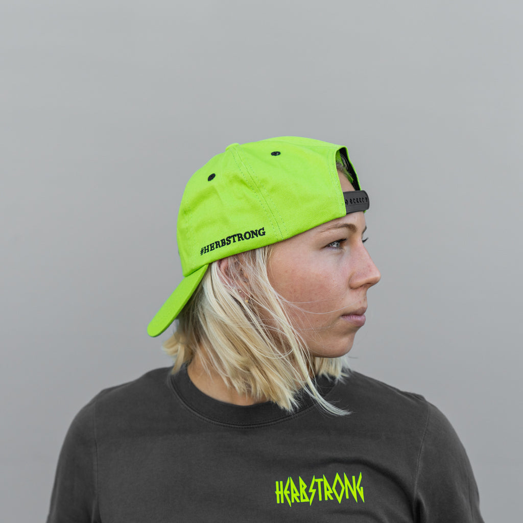 Baseball Hat - Neon Green