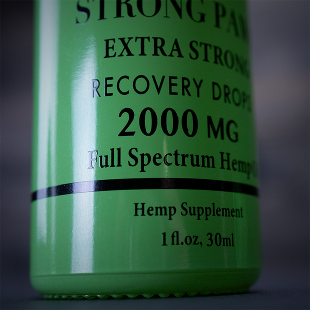 Strong Paws CBD Recovery Drops - 2000MG