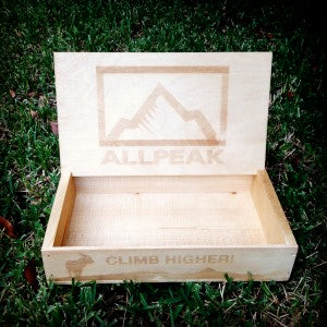 All Peak sticker display box